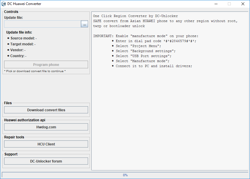 API INFORMATION